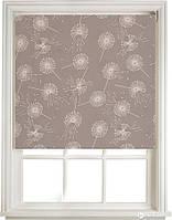 Рулонные шторы ткань цветы - 5428