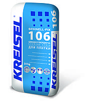 Клей для плитки KREISEL SCHNELL-FIX №106, 25кг