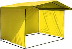 Палатка торговая Премиум желтый 300х200. Каркас диам. 25 мм