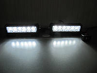ДХО стробоскопы - 3 цвета FS LED S5-6  RGB -12-24 В.