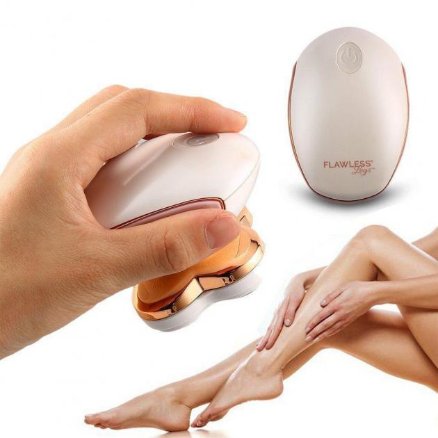 Женский эпилятор бритва Flawless Legs для ног USB Charge