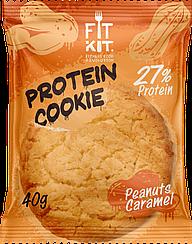 Протеиновое печенье Fit Kit  Арахис-Карамель  (40 грамм)