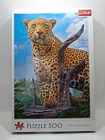 Пазлы Trefl  500шт (37332) 48*34см (Дикий леопард)