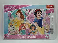 Пазлы Trefl   15шт (31352) 34х23 (Милі принцеси Дісней Принцеси ) з рамкою