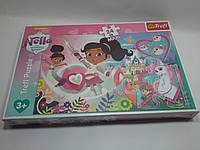 Пазлы Trefl MAXI 24шт (14267) 48*34 см (Принцеса Нела Nickelodeon Відважна принцеса)