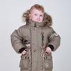 Зимняя куртка-парка хакки на меху на мальчика Гарри 80-122 рост