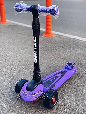 Самокат детский Трехколесный Самокат scooter smart  Macro, фото 2