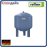 Расширительный бак Reflex для водоснабжения DE 33L (синий) резьба 3/4 на ножках