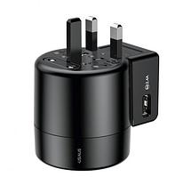 Универсальное зарядное устройство Baseus Rotation Type Black