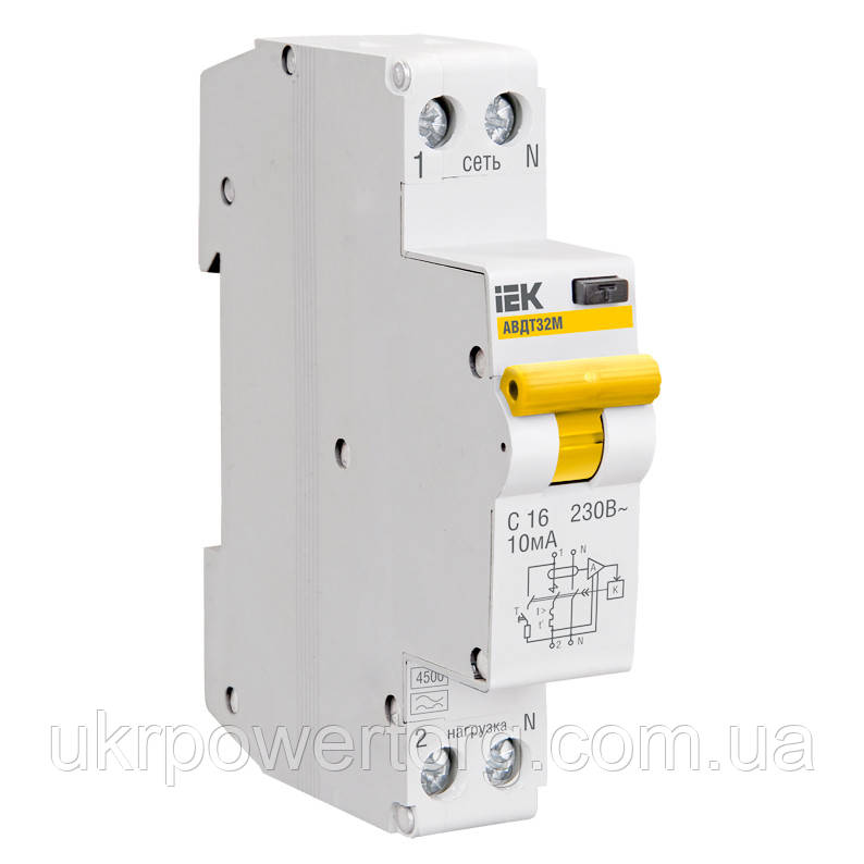 Автоматичний вимикач ВА47-29 1P 3 А х-ка C, IEK