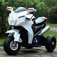 Детский электро-мотоцикл BMW T-7213 Белый