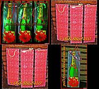Пакет подарочный (бутылка ) 36*12