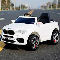 Детский электромобиль джип BMW FL 1538 Белый