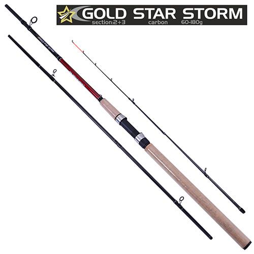 Спінінг короповий штекерний STENSON Gold star storm 3.6 м 60-180 м 2+3к вудка