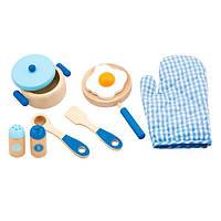 """Игровой набор Viga Toys """"Маленький повар"""", голубой (50115)"""