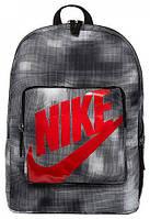 Рюкзак детский NIKE CLASSIC Backpack - AOP SU20 серый BA6213-010