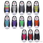 Шнурки силиконовые для обуви яркие модные разноцветные растягивающиеся Good-bye tir ОПТ, фото 3