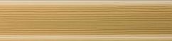 Плінтус пластиковий Salag 05 (Сосна з кабель каналом підлоговий пластиковий плінтус)