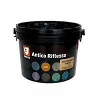 Декоративная отделка Giolli Antico Riflesso effetto Sabbiato Argento, 2,5 л