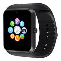 Смарт часы Smart Watch GT08 (Bluetooth 3.0, камера, 320 mah, MTK 6260, 64m/64m, IPS1.54) black