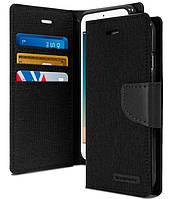 Чехол-книжка Flip Cover for Huawei Y5C Goospery Canvas Diary Black