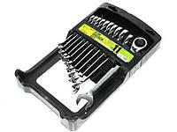 Набор ключей рожково-трещоточных  11 шт,8-19 мм, ALLOID НК-2081-11 (наб.)