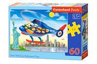Пазлы Castorland   60шт (066063) 32*23 см (Вертолет)