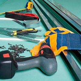 Инструмент для работ с гипсокартоном