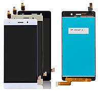 Дисплей для Huawei P8 Lite (ALE-L21), модуль в сборе (экран и сенсор), фото 1