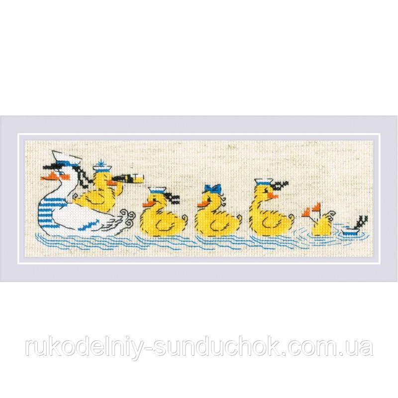 Набір для вишивання хрестом «По морях, по хвилях» (1865)