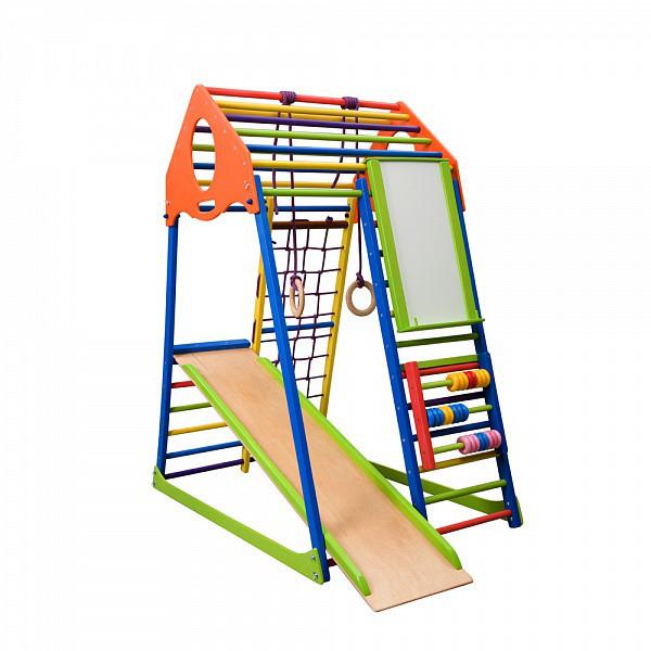 """Детская спортивная площадка """"KindWood Color Plus"""""""