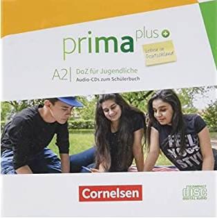Prima plus A2 Leben in Deutschland Audio-CDs zum Schülerbuch
