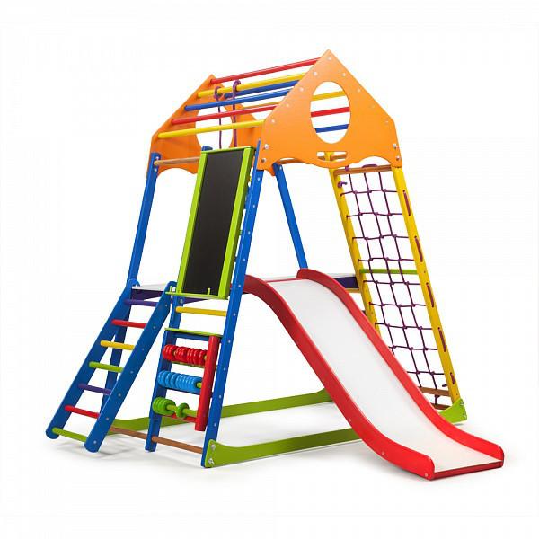 """Детская спортивная площадка """"KindWood Color Plus 3"""""""