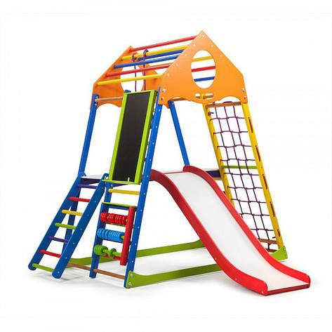 """Детская спортивная площадка """"KindWood Color Plus 3"""", фото 2"""
