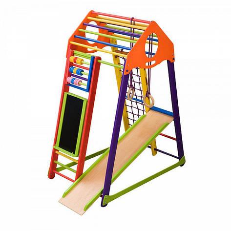 """Детский спортивный уголок """"BambinoWood Color Plus"""", фото 2"""
