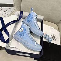 Высокие кроссовки B23 Dior And Daniel Arsham (Диор)