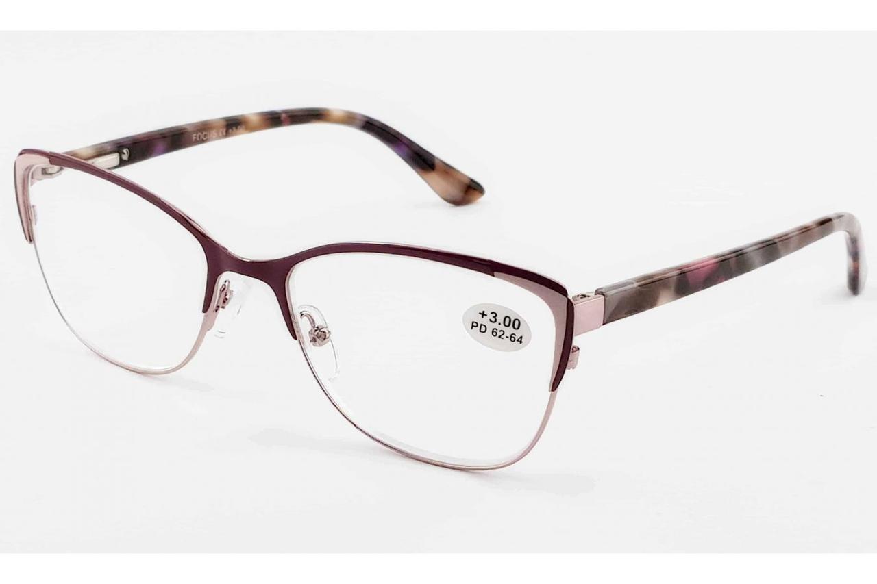 Женские готовые очки  (+2.5)