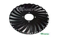 Турбо-диск хвилястий D=440 мм турбо (820-156C Great Plains, HORSCH)