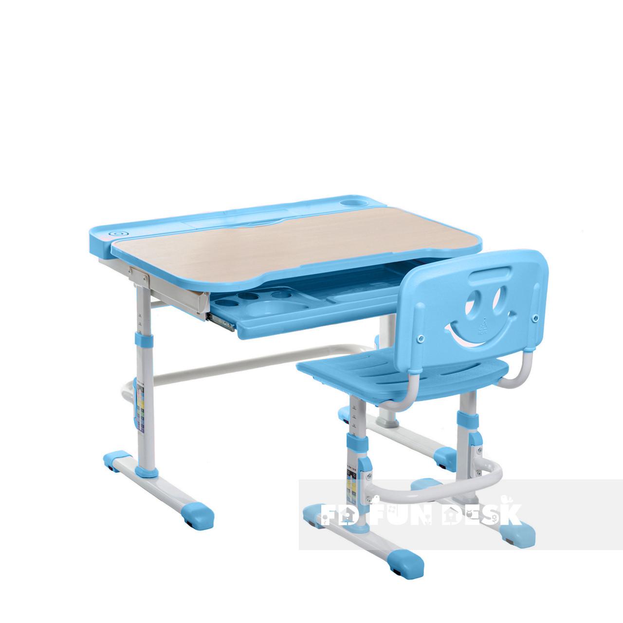 Детская парта со стульчиком FunDesk Bellissima Blue - ОПТОМ ДЛЯ ШКОЛ