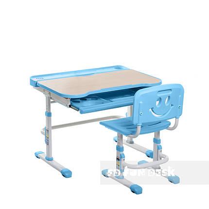 Детская парта со стульчиком FunDesk Bellissima Blue - ОПТОМ ДЛЯ ШКОЛ, фото 2