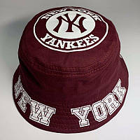 Панама унисекс New York Yankees реплика Бордовая