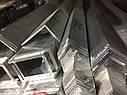 Уголок алюминиевый 50х30х2 анодированный серебро, фото 2