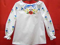 """Вышиванка для девочек """"Вінок польовий"""" ( арт. BA2-21.8.1 ), фото 1"""
