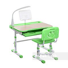 Детская парта со стульчиком FunDesk Bellissima Green - ОПТОМ ДЛЯ ШКОЛ