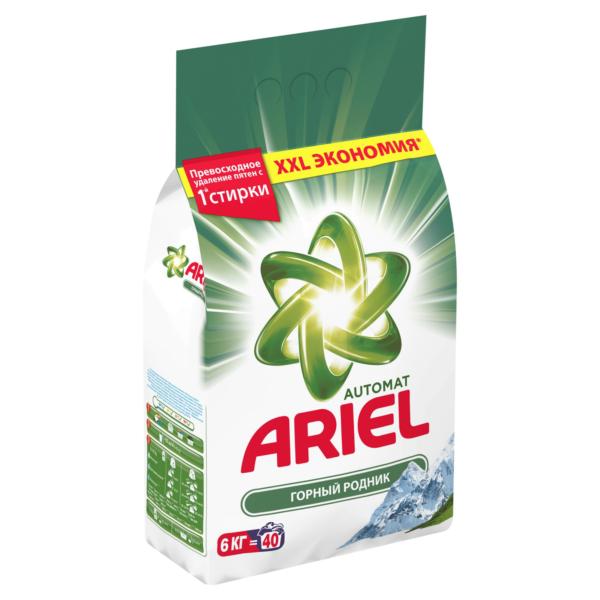 Пральний порошок Ariel Горный родник 6 кг