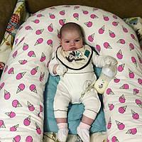 U-образная подушка для беременных XXXL - 170 см. + наволочка.