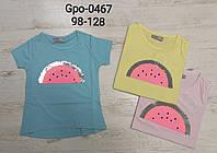 Футболка для девочек Glo-Story, 98-128 pp. Артикул: GPO0467