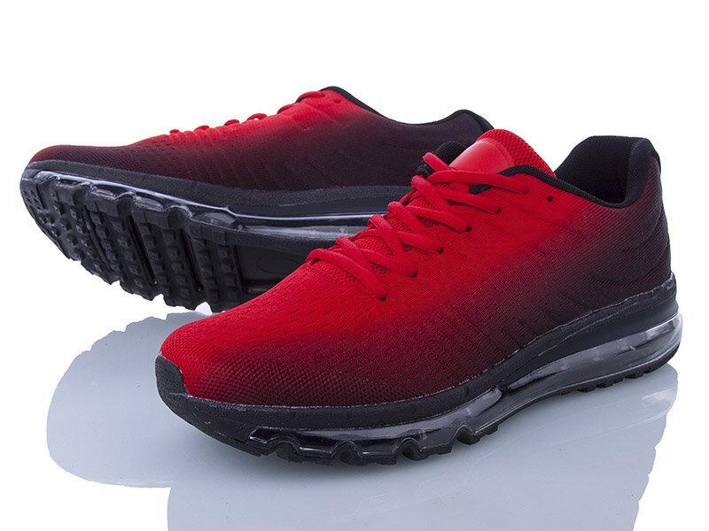 Кроссовки  красно-черные  (реплика TOP ААА+)
