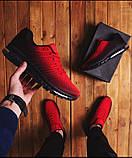 Кроссовки  красно-черные  (реплика TOP ААА+), фото 2