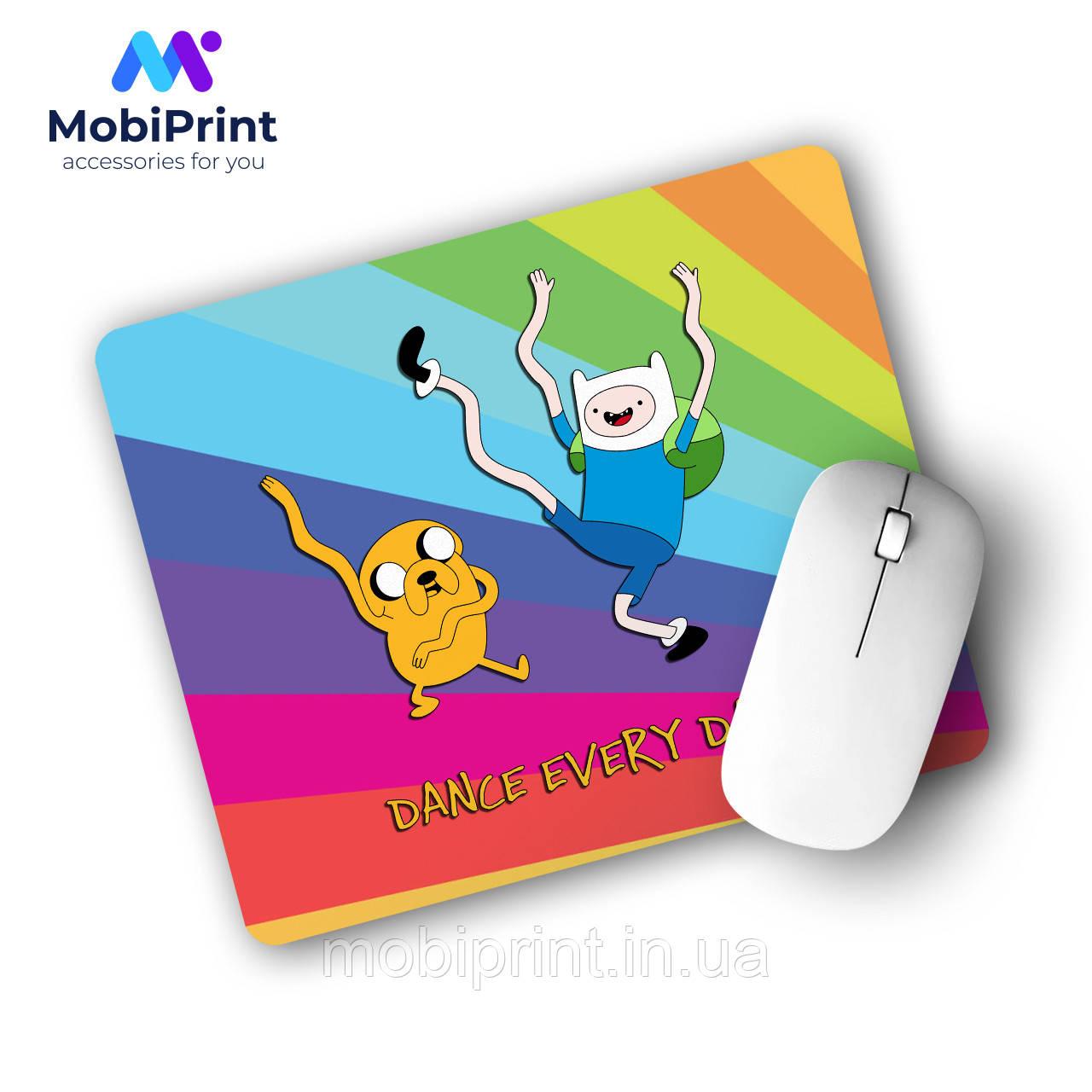 Коврик для мышки Финн и Джейк пес Время приключений (Adventure Time) (25108-1580)
